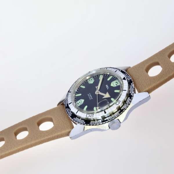 Montre Plongée vintage world timer GMT