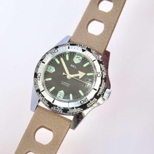 Vintage montre ancienne GMT homme