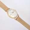 Montre ancienne idée cadeau femme bracelet maille milanaise doré or