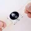 Montre vintage mécanique affichage numérique à guichet heure sautante