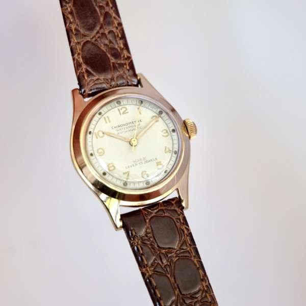 Montre médecin vintage style bubble back Rolex or pas cher